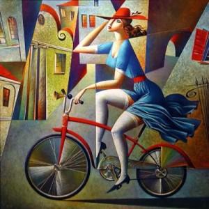 Способ похудения прост- это велосипед