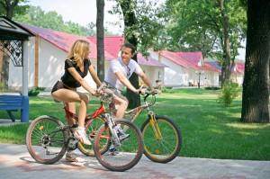 Рассмотрено влияние велосипедных прогулок на работу сердце