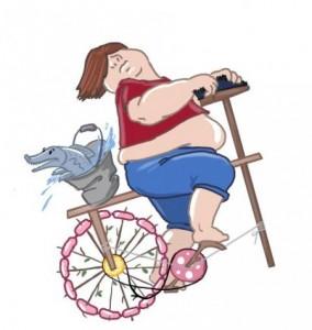Велосипед как способ похудения и рекомендации к езде