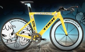 Второе место в рейтинге самых дорогих велосипедов мира за Trek Yoshitomo Nara Speed Concept