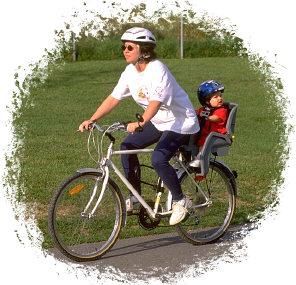 Немного о том, какое велокресло лучше всего использовать для детей