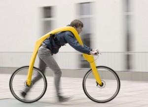 FLIZ - немецкий велосипед без педалей и сиденья