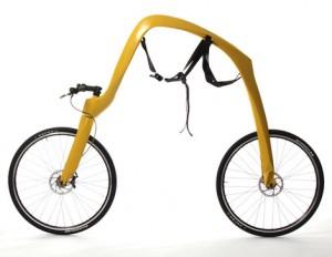Немецкий велосипед без сиденья и педалей