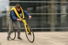 Полезный для здоровья и экологичный немецкий велосипед