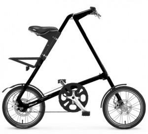 Компакные и лугкие в обращении велосипеды от Strida