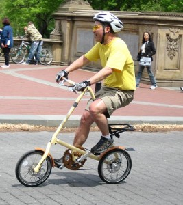 Велосипеды Strida популрный вид транспорта