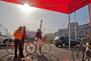 Американцы массово пересаживаются на велосипеды