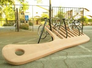 Американские дизайнеры доказали: парковка для велосипедов может быть оригинальной!