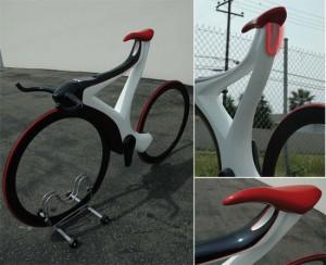 Новый футуристический велосипед The Glide для поездок на работу и отдых