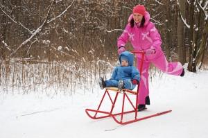Финские сани: прогулочный вариант