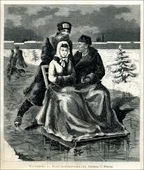 финские сани - отличное развлечение зимой
