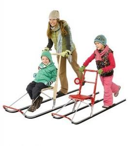 Купить финские сани для всей семьи