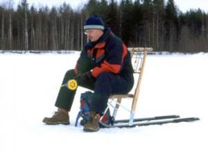 Финские сани специально для рыбаков