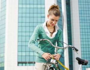 Посадка на велосипеде с удобством!