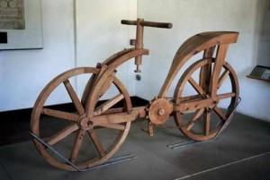 Велосипед Леонардо да Винчи выставлен в Киеве