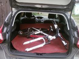 Перевозка велосипеда в автомобиле- как разместить велосипед внутри салона