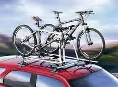 Перевозка велосипеда в автомобиле- крепление на крыше