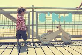 B'kid- деревянный детский велосипед
